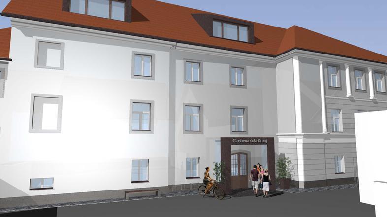 Začela se bo obnova nekdanje gradbene šole v središču mesta