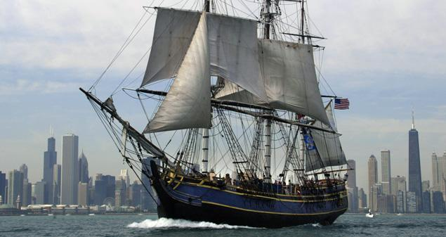 HMS Bounty (zdroj: Getty Image)