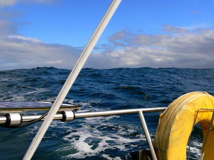 Severním mořem na západ
