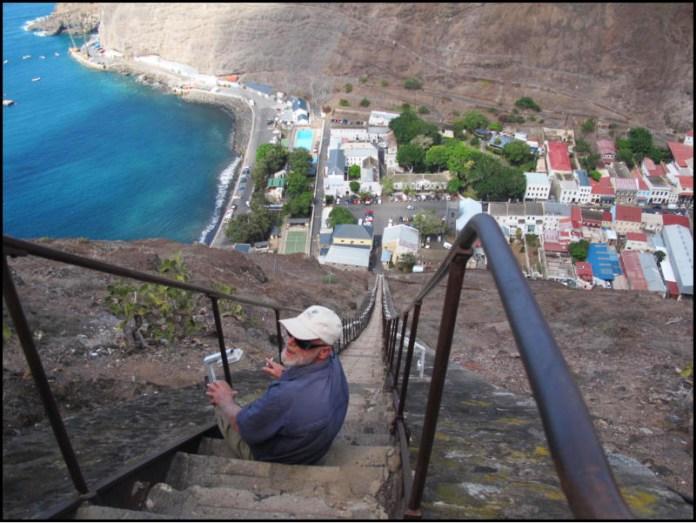 Na Jakubových schodech.