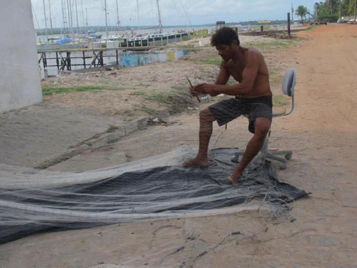 Stálá práce rybářů.