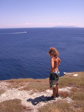 Na vrcholu Cap Corse u majáku.