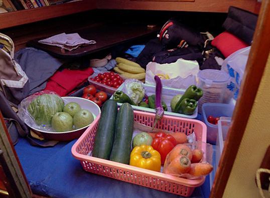 Na tajfun jsme se pořádně připravili.