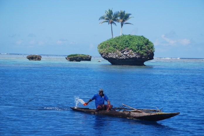 Ostrůvky okolo Vanuatu jsou naprost nádherné.