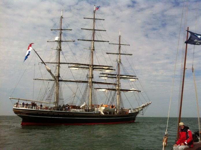 Další z krásných lodí Tall Ship.