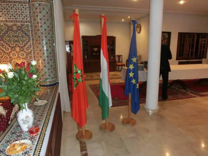 Marocká ambasáda.