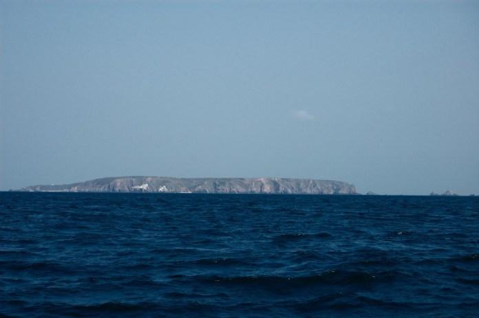 Ostrov Alderney.