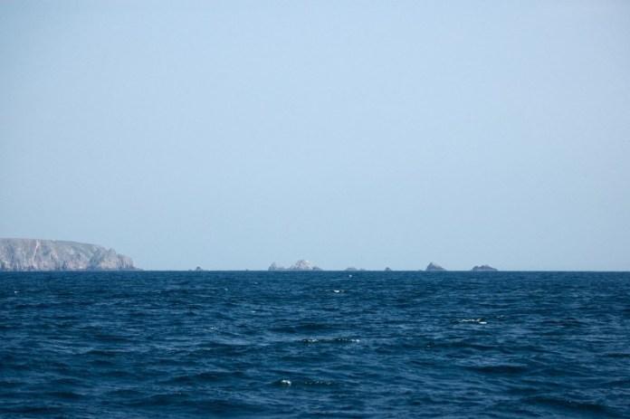 Skaliska a proudy jsou hlavním nebezpečím na Channel Islands.