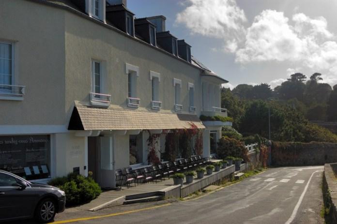 Hotel Baie des Anges v L'Aber Wrac'h.