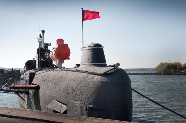 Sovětská ponorka U-461.