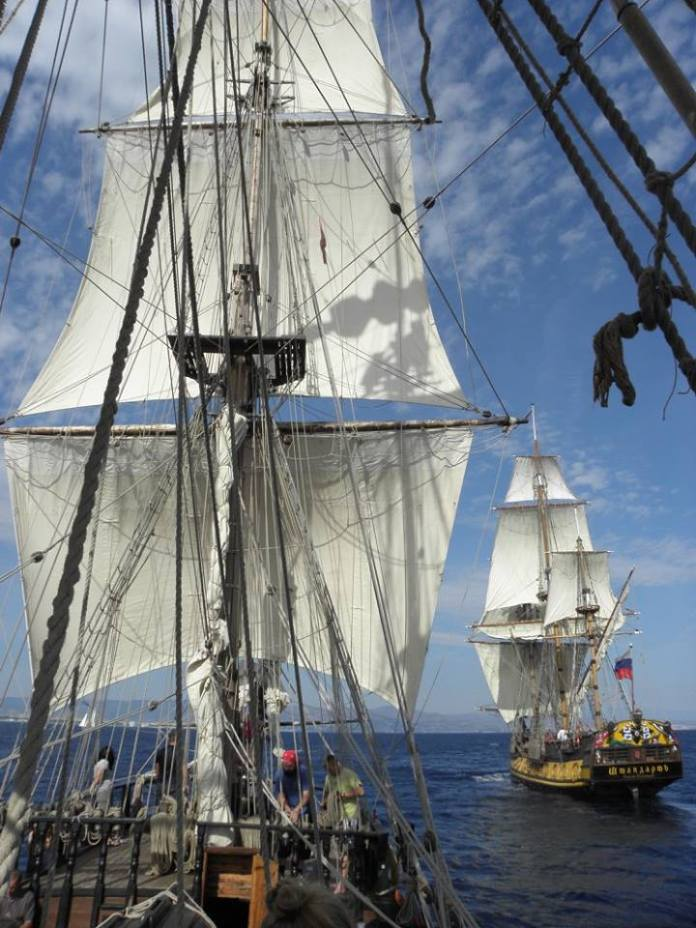 Setkání s lodí Shtandart