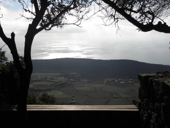 Výhled ze Sauna naturale