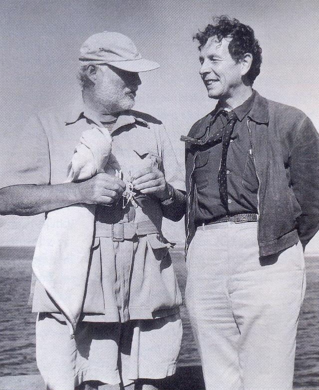 IngriÜ s E. Hemingwayem