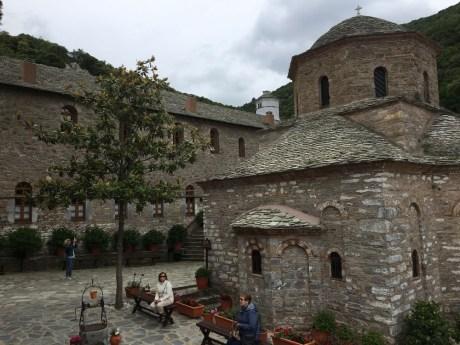 Mužský klášter.