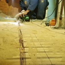 Práce na nové podlaze