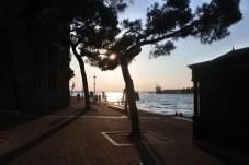 Západ slunce v Benátkách