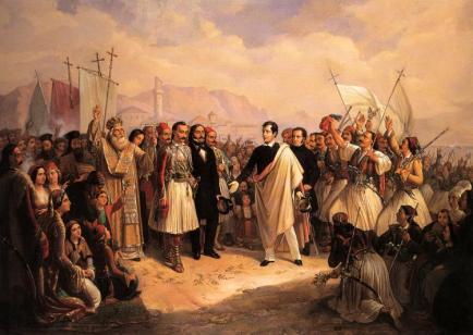 Lord Byron v Mesolongi (Wikipedia)
