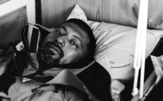 Tomy Abhilash během transportu do nemocnice