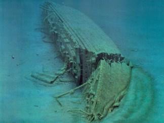 Vrak lodi Britannic. Zdroj: http://the-schip-of-dreams.blog.cz/en/0907/britannic
