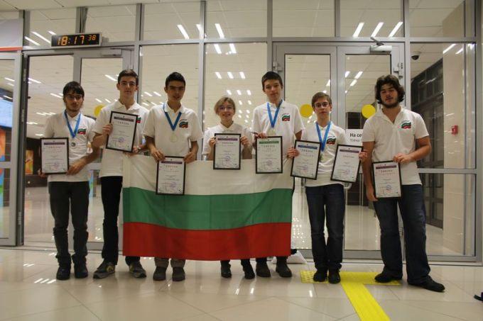 българският отбор по астрономия с медали