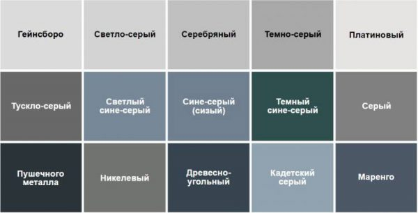 Warna warna kelabu