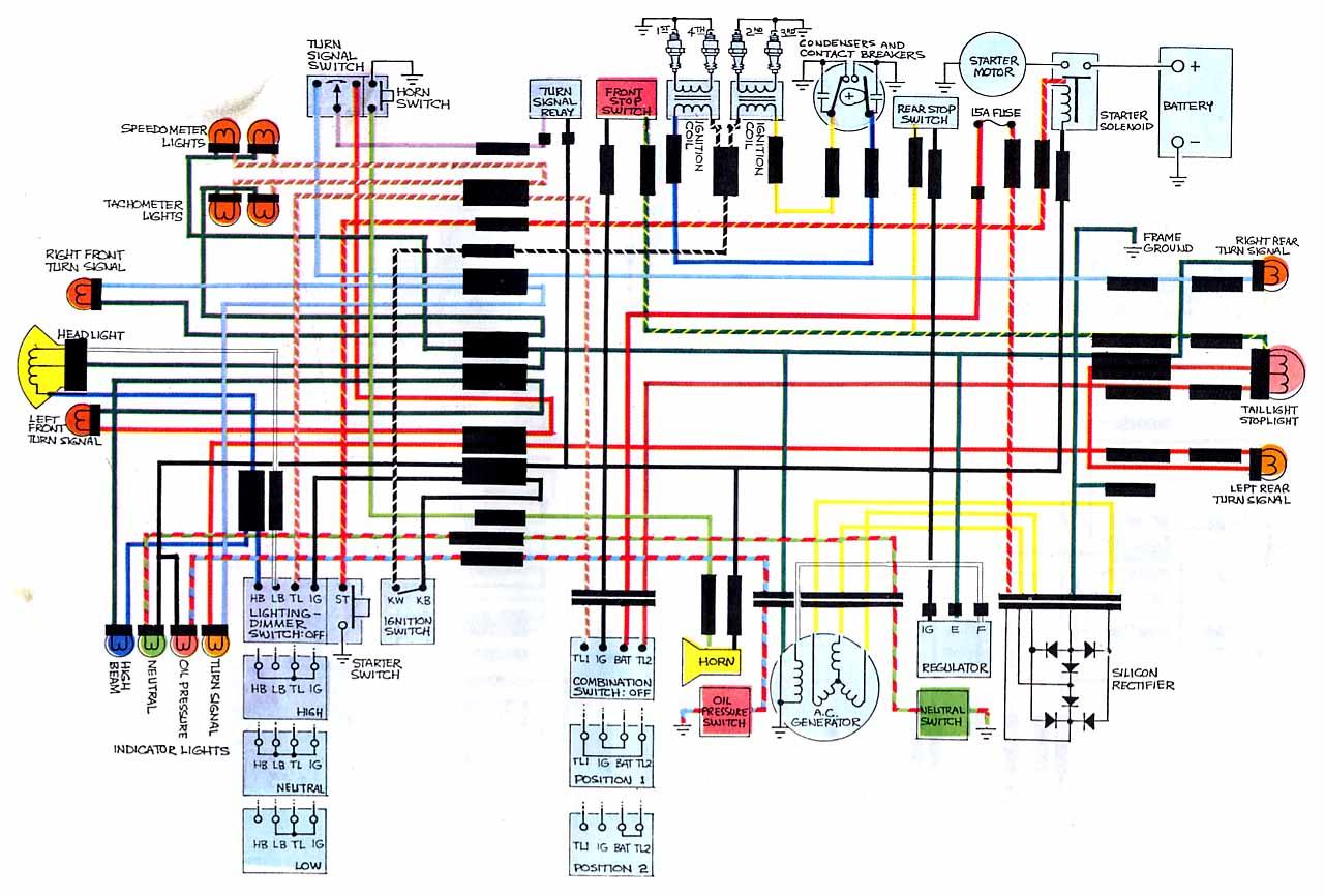 hight resolution of  honda cb750 f k1 k3 k7 k8 cb750k3 wiring diagrams