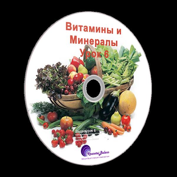 Витамины и минералы. Урок 6_4