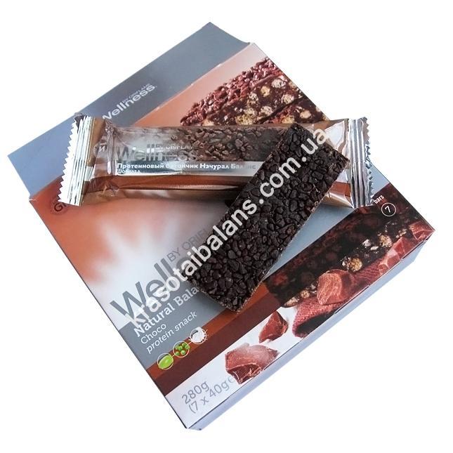 Протеиновые батончики «Natural Balance» Шоколад_6