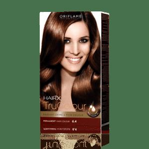 Стойкая краска для волос «Цвет-Эксперт» Темный медный