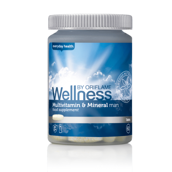Мультивитамины и минералы для мужчин