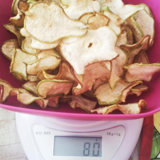 Груша сушеная 80 грамм. Чипсы. Красота и Баланс
