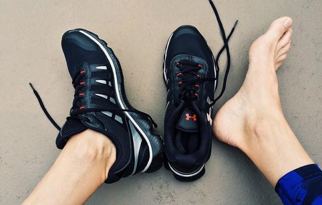 Обувь решает удастся ли Вам тренировка на беговой дорожке?