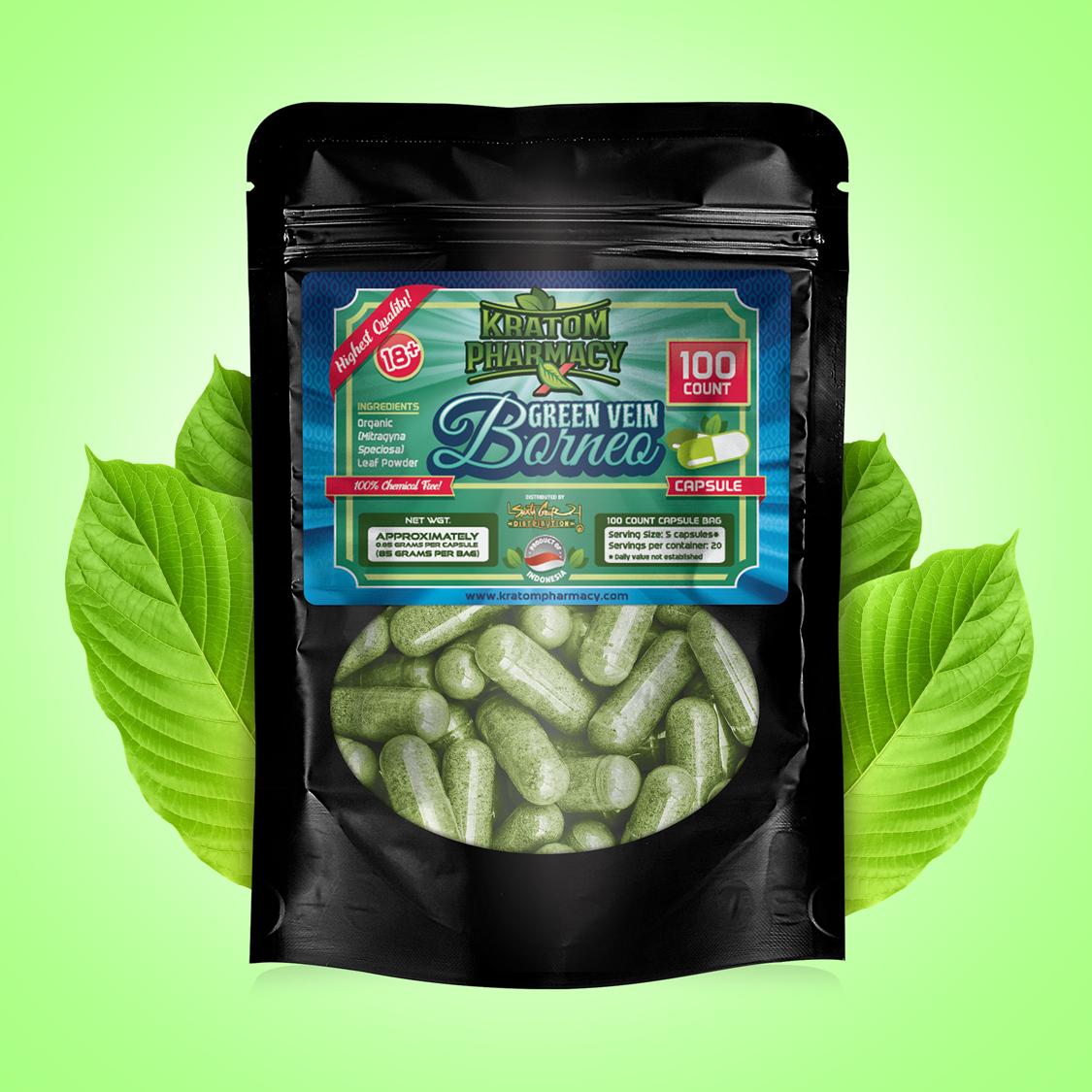 Green Borneo - 100 Capsules