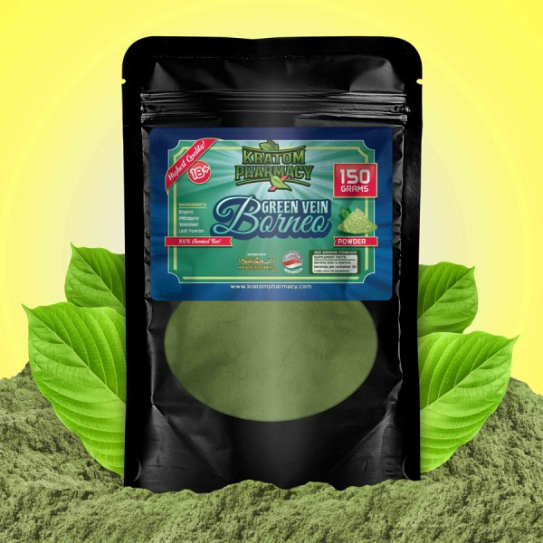 Green Borneo - 150 Gram Powder