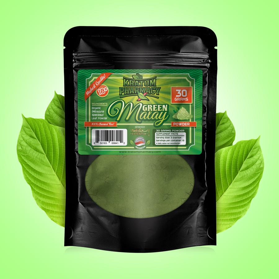 Green Malay - 30 gram powder