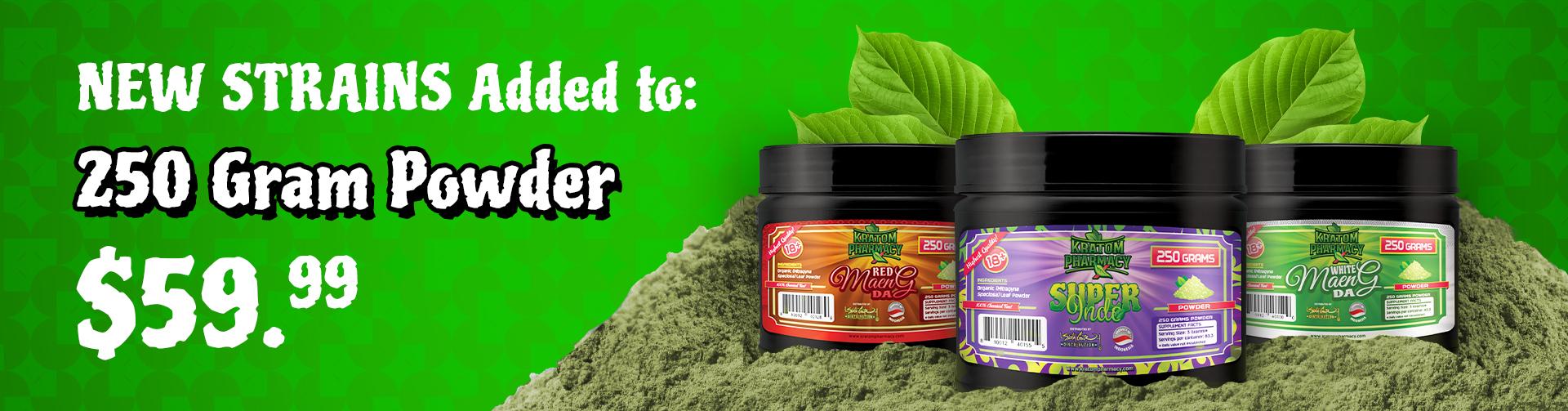 Kratom Pharmacy added 250 Gram Powder