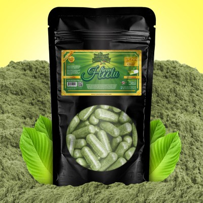 Kratom Pharmacy | Green Hulu - 1500 Capsules