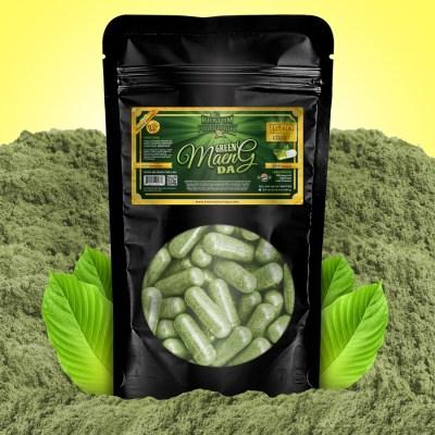 Kratom Pharmacy | Green Maeng Da - 1500 Capsules
