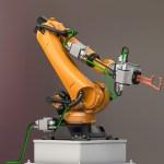 Schweissroboter-mit-Steuerungsmodulen