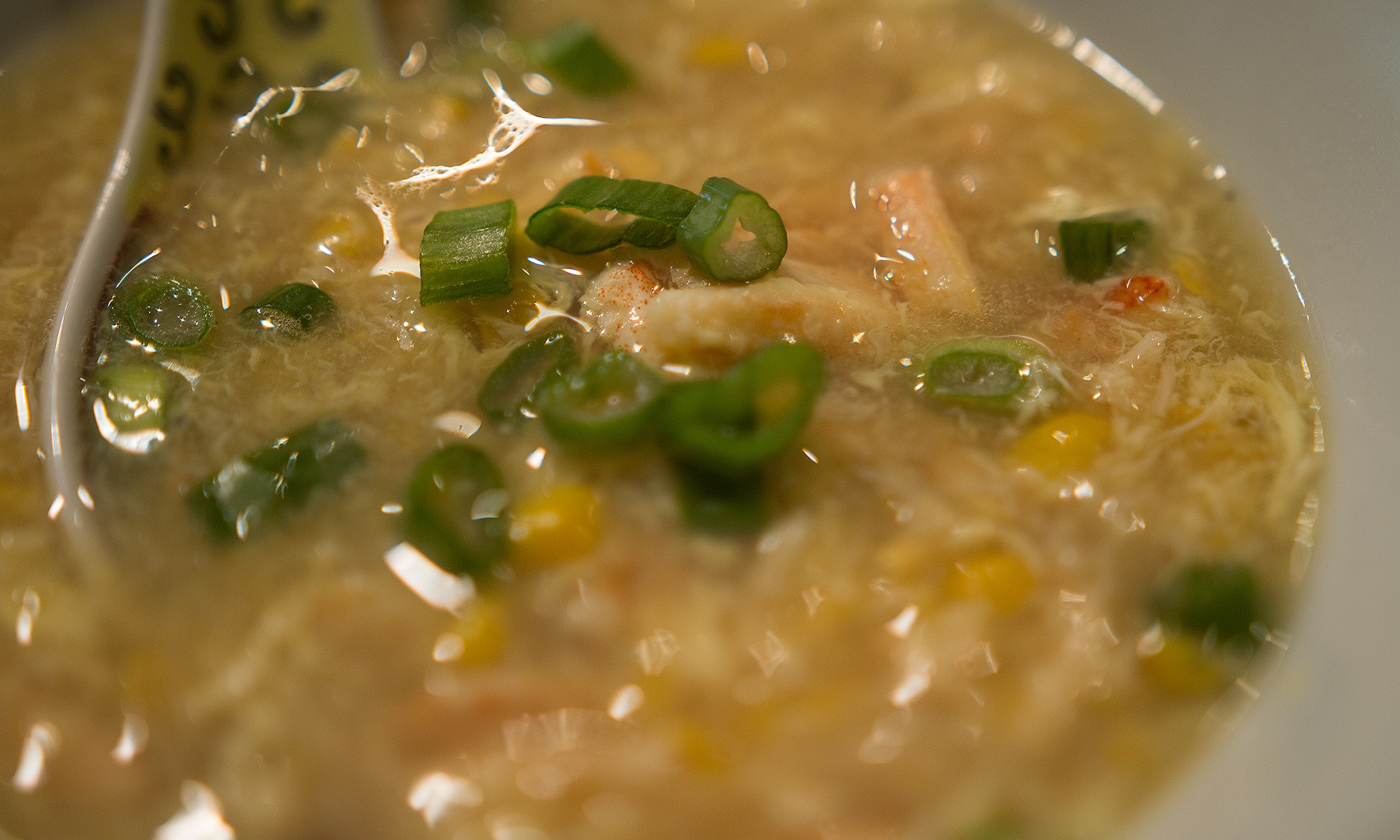 Sweet Corn Crab Soup