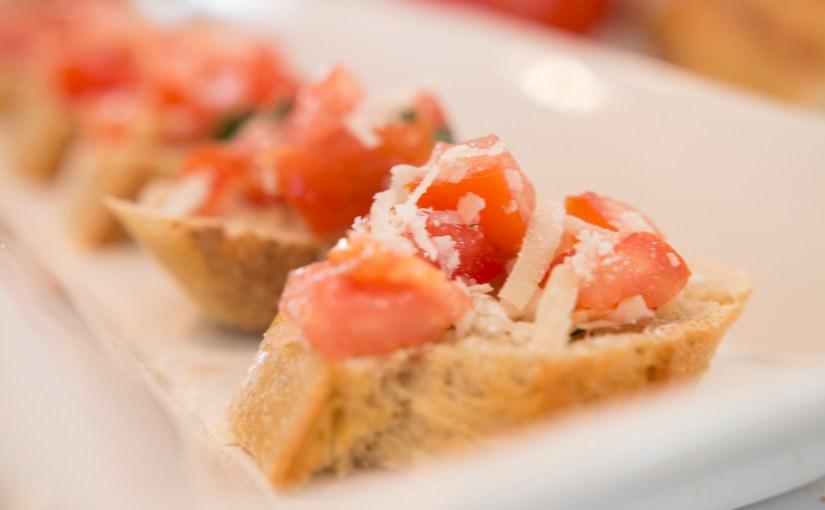 Parmesan Bruschetta