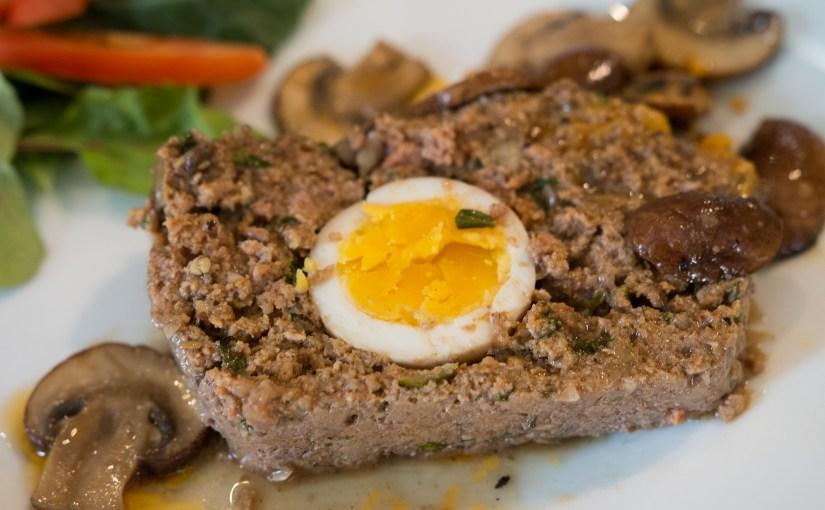 Mushroom Meatloaf