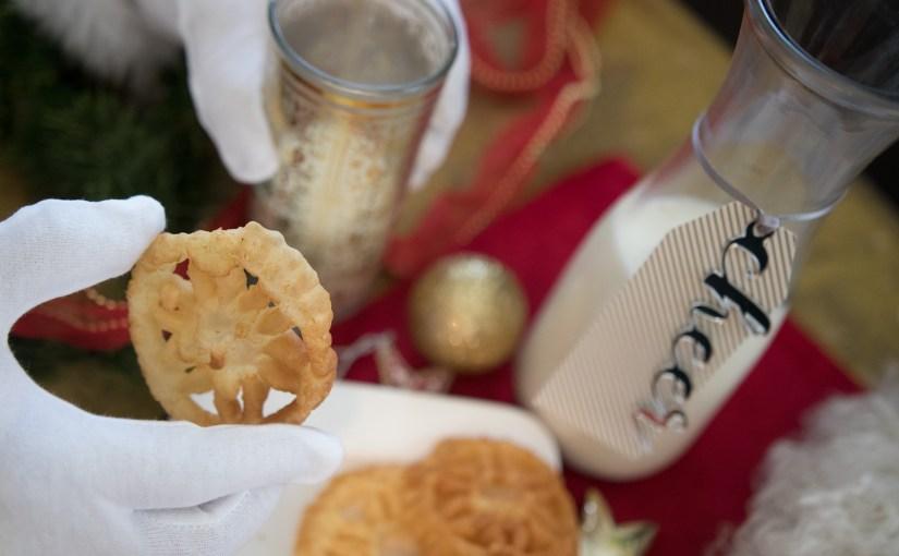 Rose Cookies or Rose De Coque