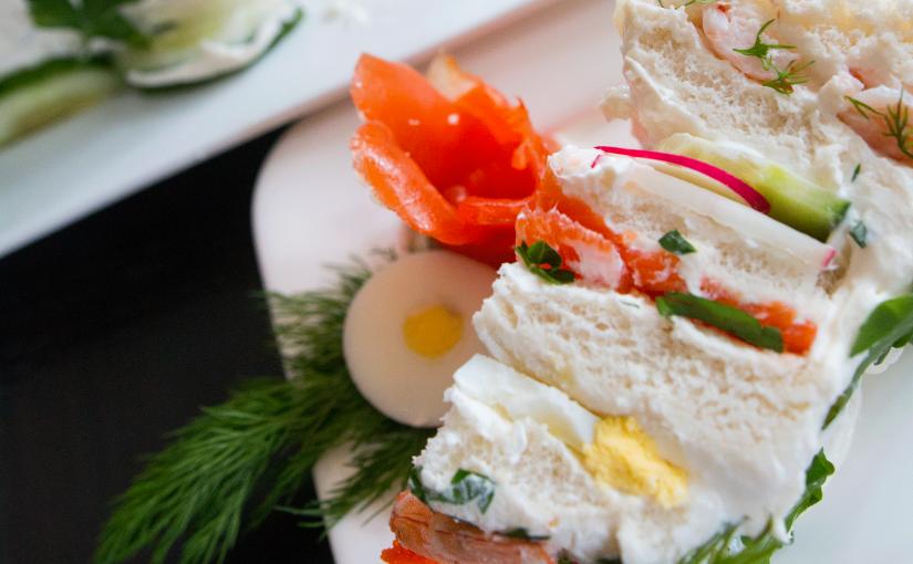 Smorgastorta – SWEDISH SANDWICH Cake
