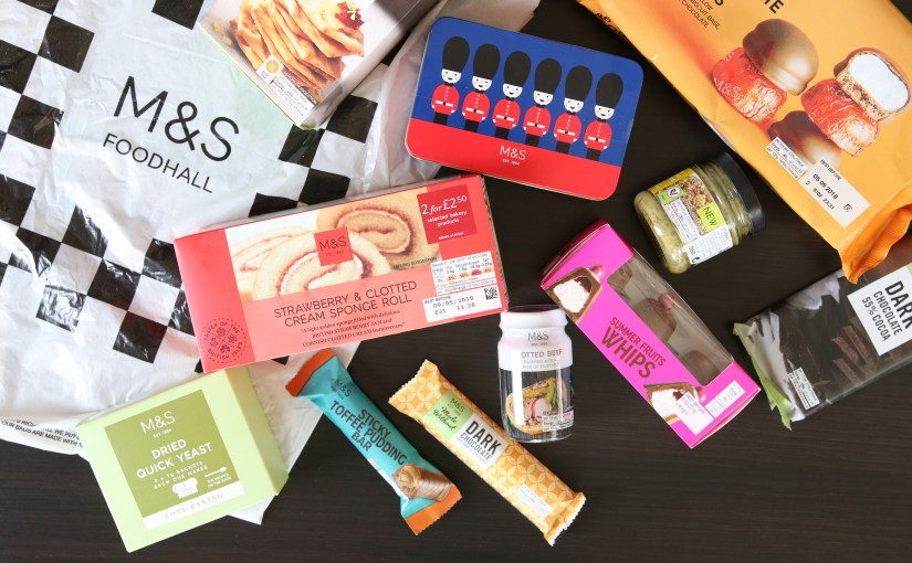 Marks & Spencer – M & S Foodhalls – Grocery Haul