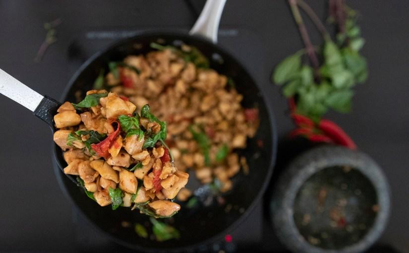 Pad Kaprow Gai – Thai Chicken Basil Stir fry