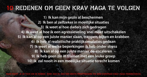 Krav maga training FB ad2