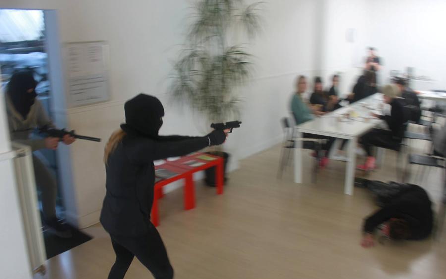 Workshop omgaan met gewapende aanvallers Krav Maga Antwerpen