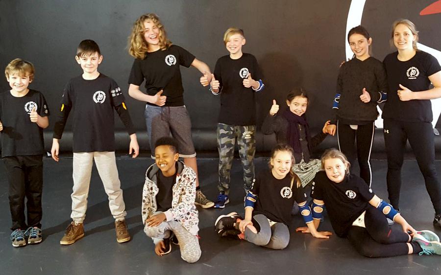 Jongerengroep zelfverdediging Krav Maga Antwerpen
