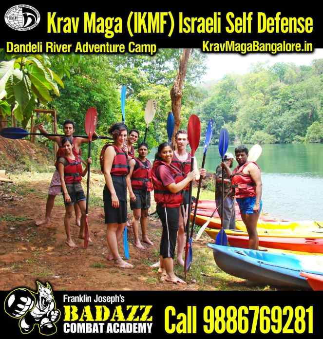 BadAzz Krav Maga Military Combat Academy River Adventure Camp 2013